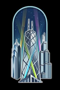 Skyscrapers, Chicago, Illinois